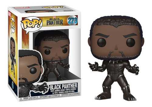 Funko Pop Marvel 273 Black Panther Pantera Negra