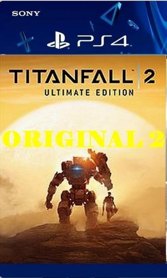 Titanfall 2 - Ps4 Psn Code Env Agora