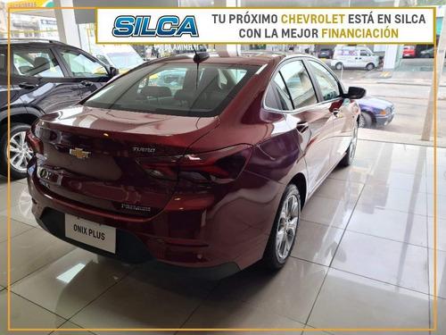 Chevrolet Onix Plus Premier 2021 Bordeaux 0km