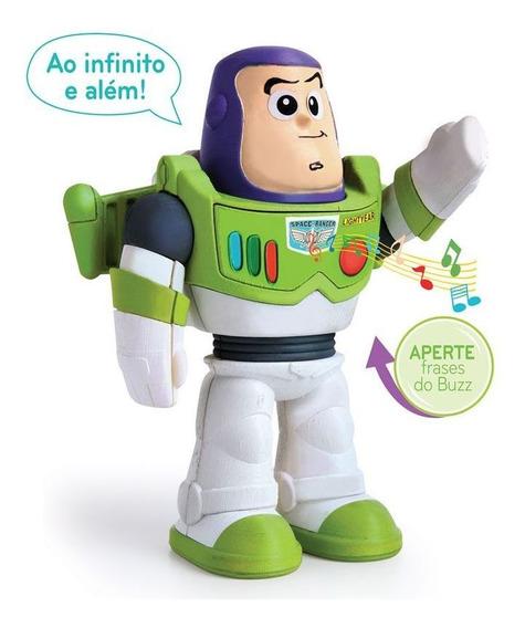 Boneco Fala Toy Story Buzz Lightyear Elka - Bebês 1 A 3 Anos
