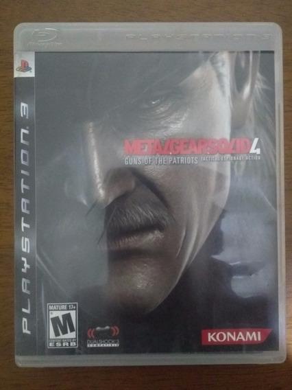 Metal Gear Solid 4 - Ps3 - Usado