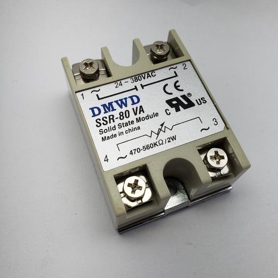 Rele De Estado Sólido Ssr-80 Va Controle P/ Potenciômetro