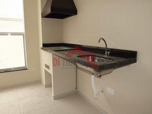 Apartamento Com 2 Dorms, Santa Maria, São Caetano Do Sul - R$ 440 Mil, Cod: 1674 - V1674