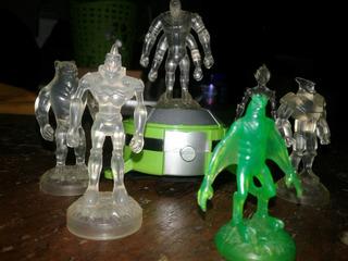 Omnitrix Alien Force Con Figuras