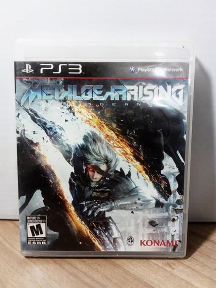 Metal Gear Rising Revengeance Ps3 Seminovo