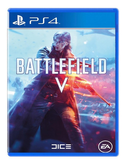 Battlefield V - Ps4 - Mídia Física - Novo