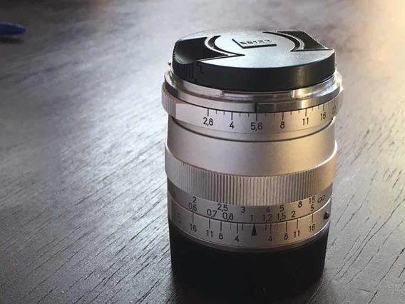 Objetiva Leica M 25 Mm 2.8 Carl Zeiss Biogon T Zm