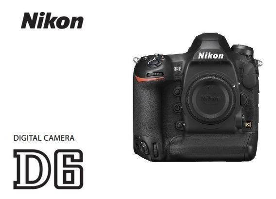 Câmera Digital Nikon D6 20.8mp + Kit ( Bolsa Tripé 64gb )