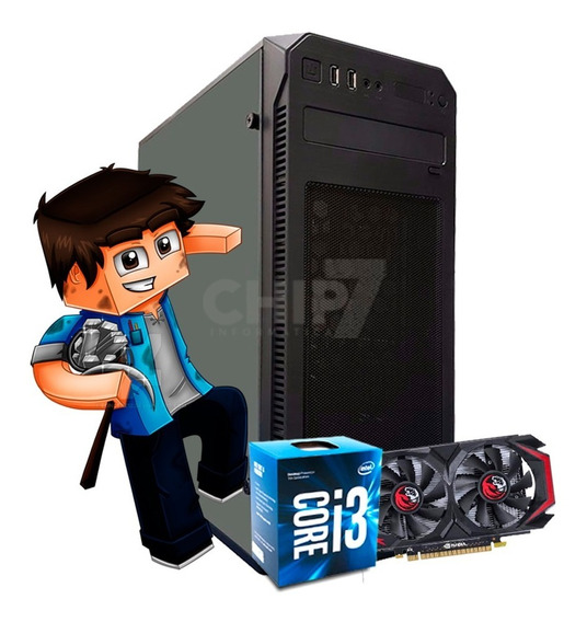 Pc Gamer Start Core I3, 8gb Ram, Hd 500gb, Gtx 550ti 1gb