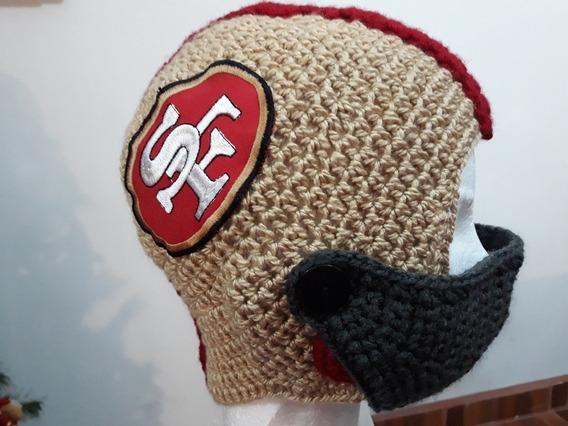 Gorro Tejido A Crochet De La Nfl