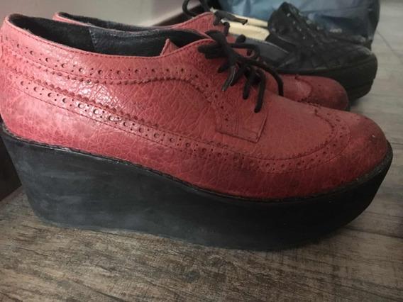 Zapato De Cuero Febo