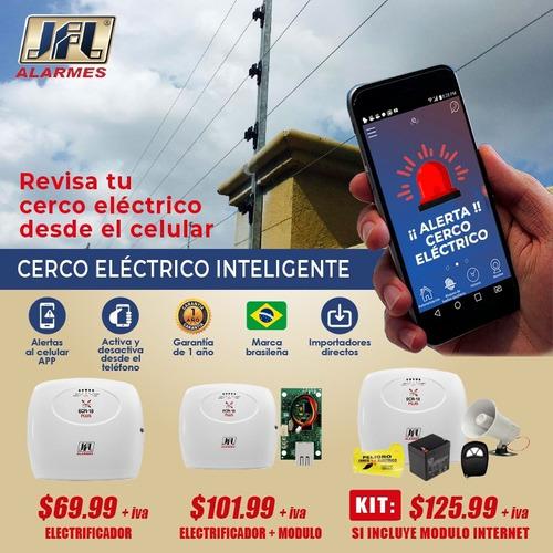 Kit Cerco Electrico Cerca Energizador Electrificador 1500m