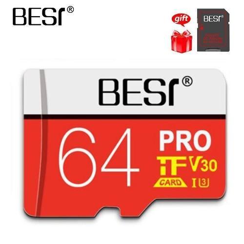 Cartao Microsd Card Pro V30 A1 U3 64gb Best Melhor Preco