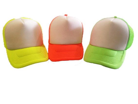 Gorra Personalizada Malla Trucker Sublimada Pack/ 30 Piezas