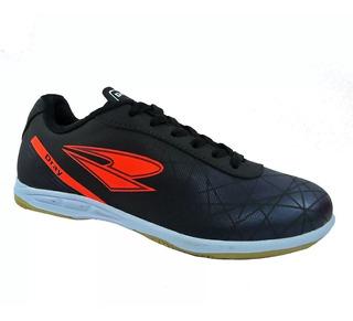 Chuteira Futsal Dray Preto/marinho 100% Original + N F
