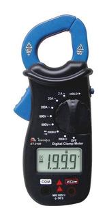 Alicate Amperímetro Mini Cat Ii 600v Et-3100 Minipa