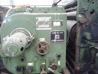 Impresora Flexografica Slotter Langston 3,70 Mts 3 Col.