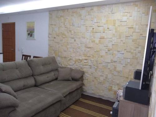 Apartamento Com 2 Dormitórios À Venda, 54 M² Por R$ 365.000,00 - Campestre - Santo André/sp - Ap8562