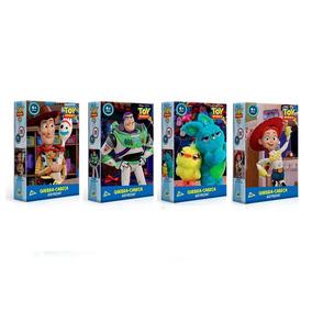 Coleção Toy Story 4 - Kit Quebra - Cabeça 60 Pç Toyster