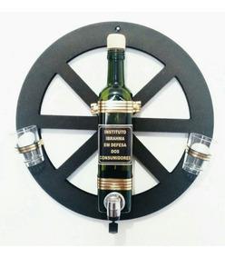 Pingometro Artesanal Dosador Bebidas Roda Carroça