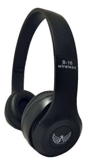 Fone S/ Fio Bluetooth Chamadas Sd Fm Mp3 Usb Aux P2 Promoção