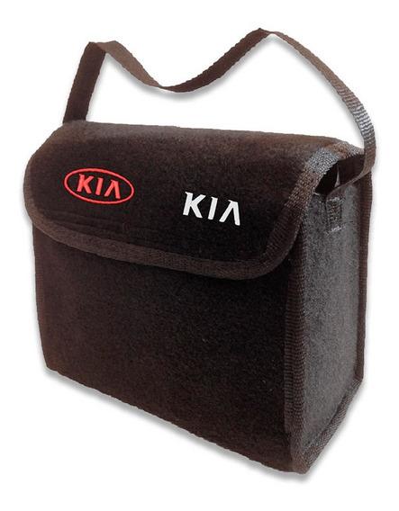 Bolsa Organizadora Porta Malas Ferramenta Logo Bordado Kia