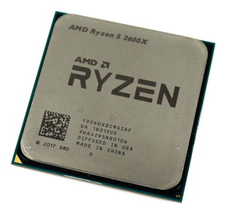 Procesador AMD Ryzen 5 2600X 6 núcleos 64 GB
