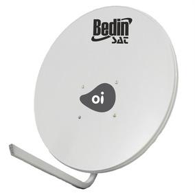 Antena Parabólica Para Tv Banda Ku 75cm Bedin Sat Externa