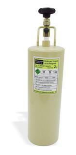 Cilindro Transporte Gás Refrigerante R12_r22_r134a 2kg