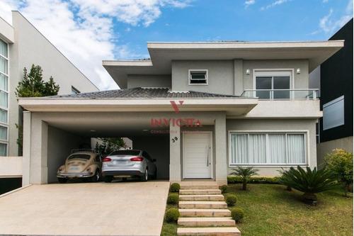 Casa Em Condomínio Com 3 Dormitórios À Venda Com 452m² Por R$ 1.350.000,00 No Bairro Santa Felicidade - Curitiba / Pr - Aa 1621