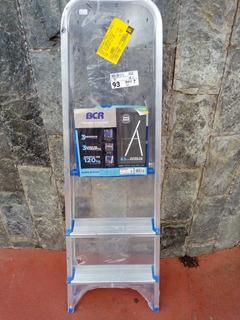 Escada De Aluminio De 3 Degraus .marca Bcr