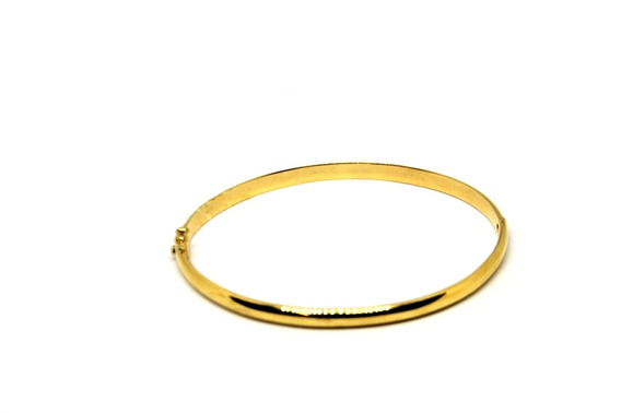 Bracelete Fino Em Ouro 18 K Masculino E Feminino