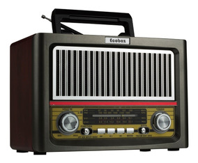Radio Retro Vintage Classico Am Fm 4 Faixas Usb Bluetooth