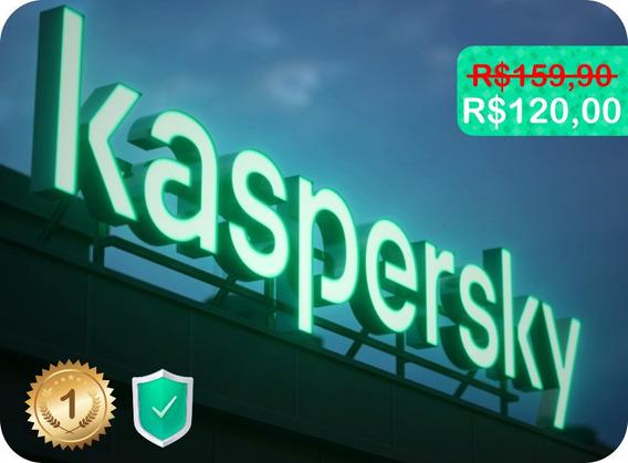 Antivírus Kaspersky Total Security 2019 3 Pcs - Original