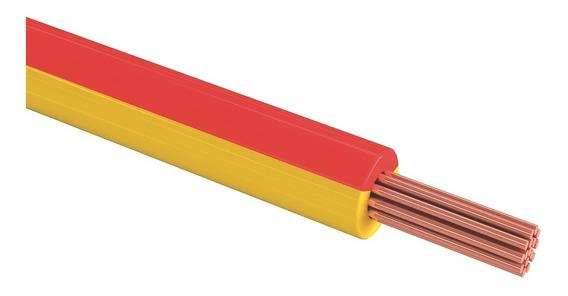 Sanelec 4076 Cable Thw Calibre 10 Awg Color Rojo 100m