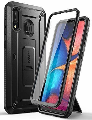 Carcasa Con Mica Supcase Ubpro Para Samsung Galaxy A20 A30