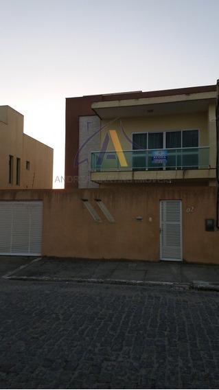 Casa Para Alugar No Bairro Foguete Em Cabo Frio - Rj. - Ct100-3