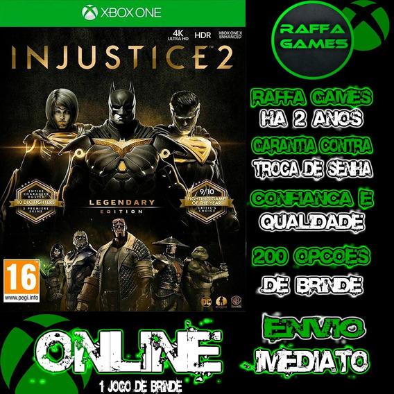 Injustice 2 Edição Lendária Xbox One Online + Brinde