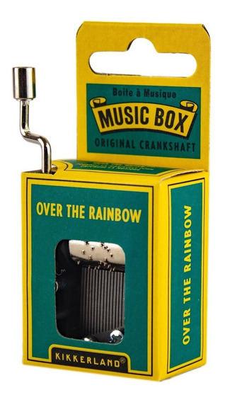 Caja Musical Melodia Over The Rainbow Kikkerland