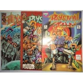 Hqs Revistas Physical Force - Jack Kirby Frete Gratis