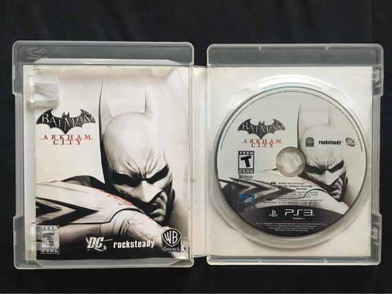 Jogo Batman Arkham City Ps3 Original