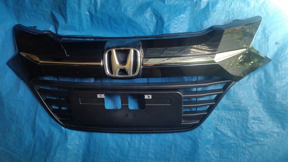 Grade Frente Hrv Frontal Honda Hrv Emblema Cromado Original