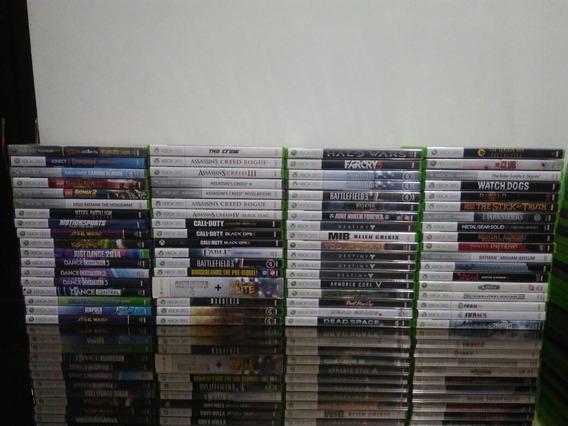 Pacote Com 3 Jogos Xbox 360 Originais Mídia Física