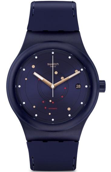 Relógio Swatch Sistem Sea Automático Unissex Sutn403