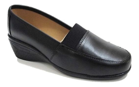 Zapatos De Descanso Mujer Florenza Piel Cómodos 8020