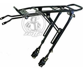 Porta Paquetes Tras Aluminio Regulable Apto Disco 26/29