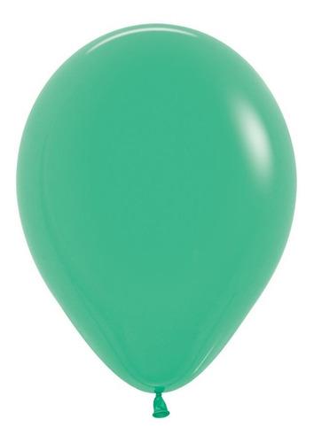 Globo R-9 Fashion Verde  X 50 -sempertex