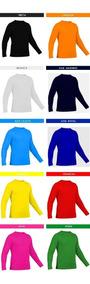 Kit 4 Camiseta Camisa Feminina Uv 50+ Varias Cores
