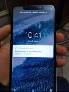 Moto One 64gb4g De Ram Zerado Biometria 100%