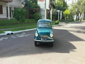 Fiat 600 R Placa Preta
